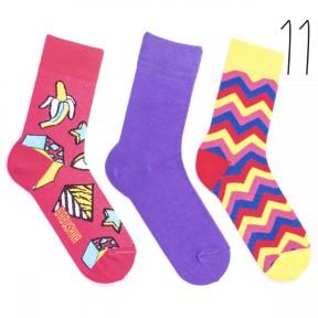 Набор цветных носков Babusha 3 пары G3-11