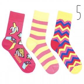 Набор цветных носков Babusha 3 пары G3-5