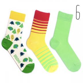 Набор цветных носков Babusha 3 пары G3-6