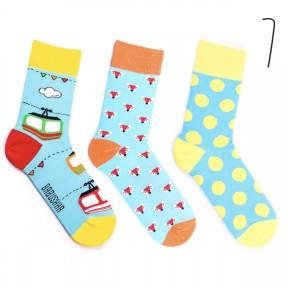 Набор цветных носков Babusha 3 пары G3-7