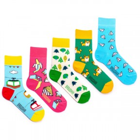 5 пар набор носков Babushka GP7