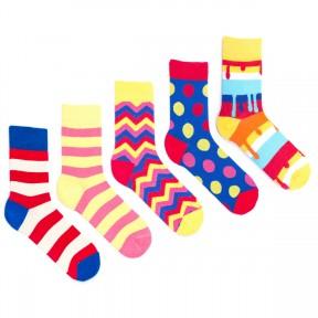 5 пар набор цветных носков Babushka GP9