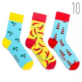 Набор цветных носков Babushka 3 пары M3-10