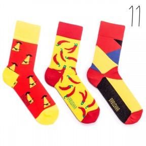 Набор цветных носков Babushka 3 пары M3-11