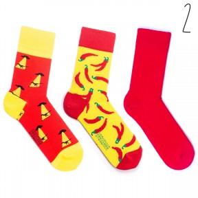 Набор цветных носков Babushka 3 пары M3-2