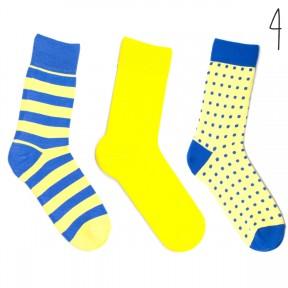 Набор цветных носков Babushka 3 пары M3-4