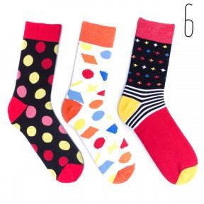 Набор цветных носков Babushka 3 пары M3-6
