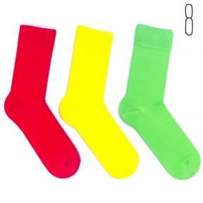 Набор цветных носков Babushka 3 пары M3-8