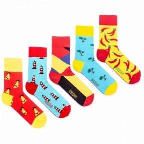 5 пар набор цветных носков Babushka MP7