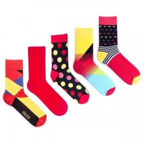 5 пар набор цветных носков Babushka MP8