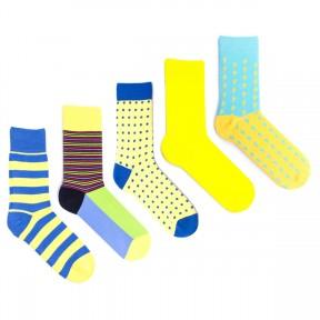 5 пар набор цветных носков Babushka MP9