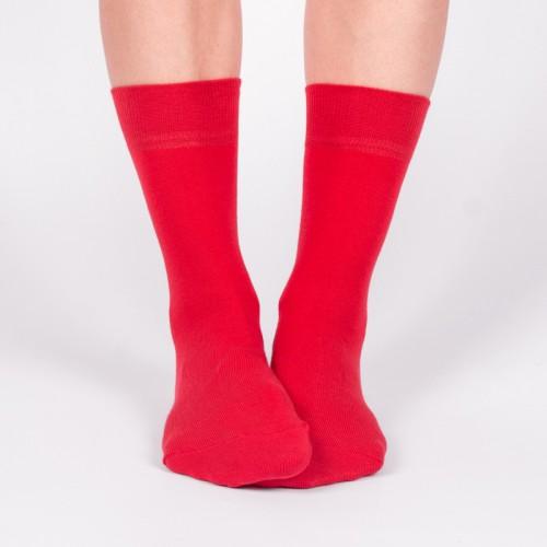 Женские красные носки