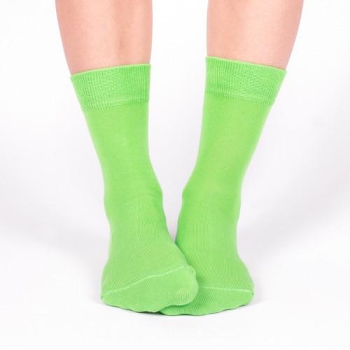 Женские зеленые носки