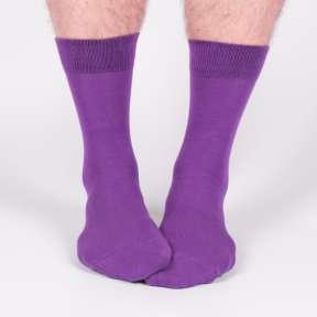 Фиолетовые мужские носки M19