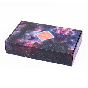Подарочная коробка на 9-12 пар Космос