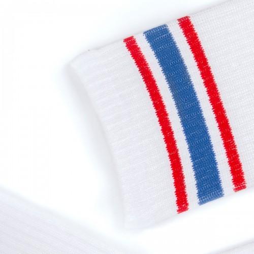 Носки со спортивной резинкой и полосками