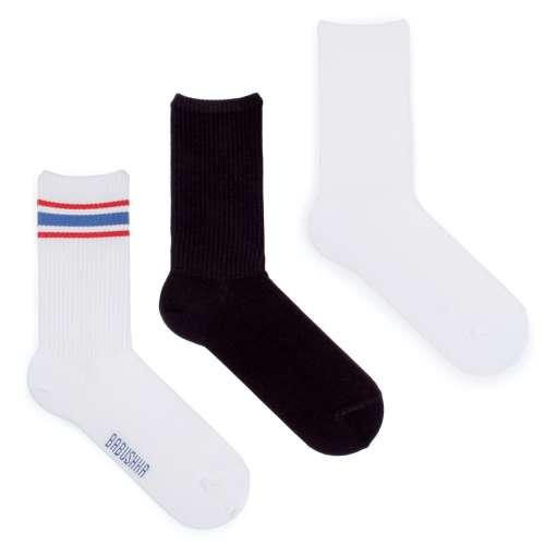 Набор носков со спортивной резинкой, 3 пары