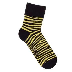Тёплые носки зебра с высокой резинкой MH1