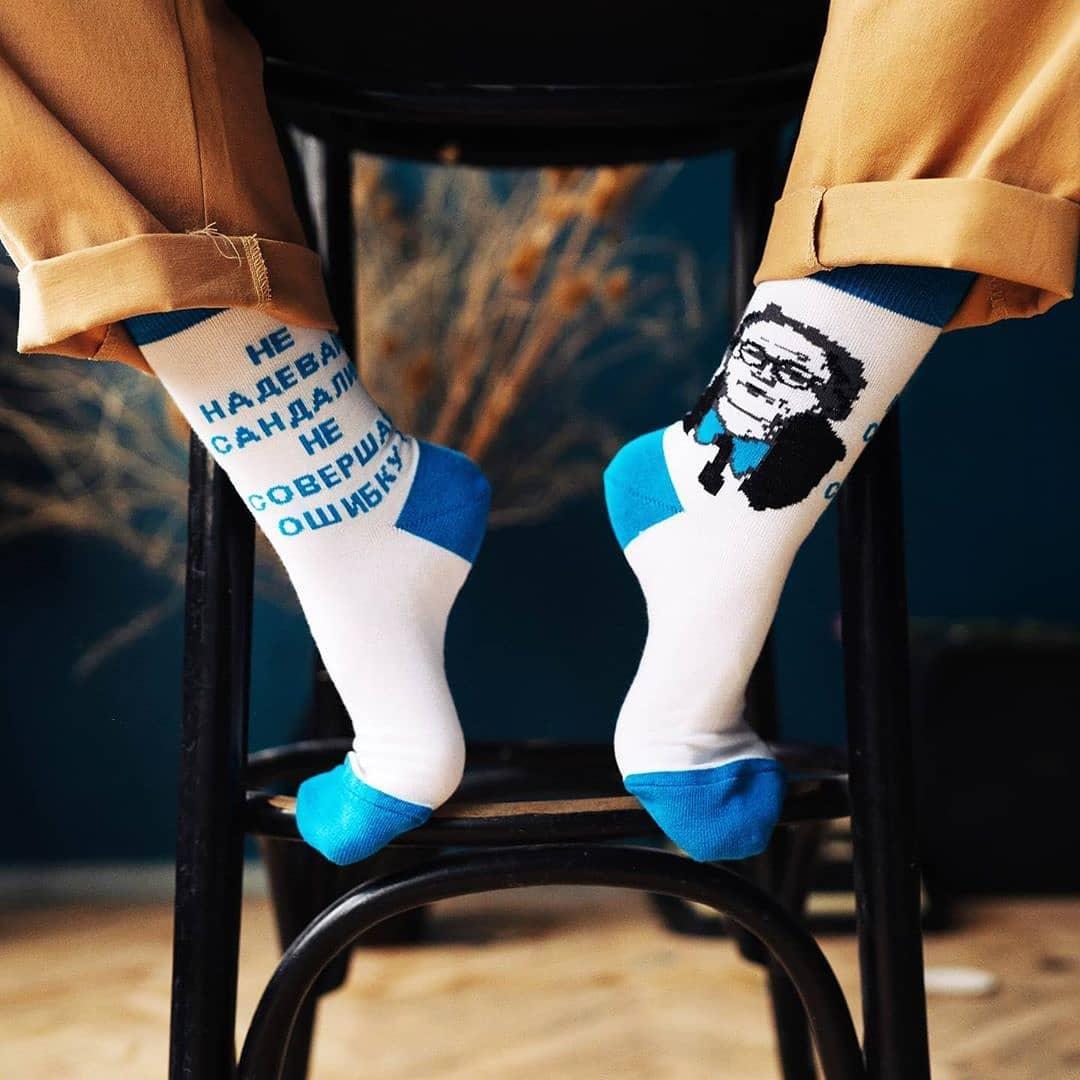 носки со своим логотипом на заказ